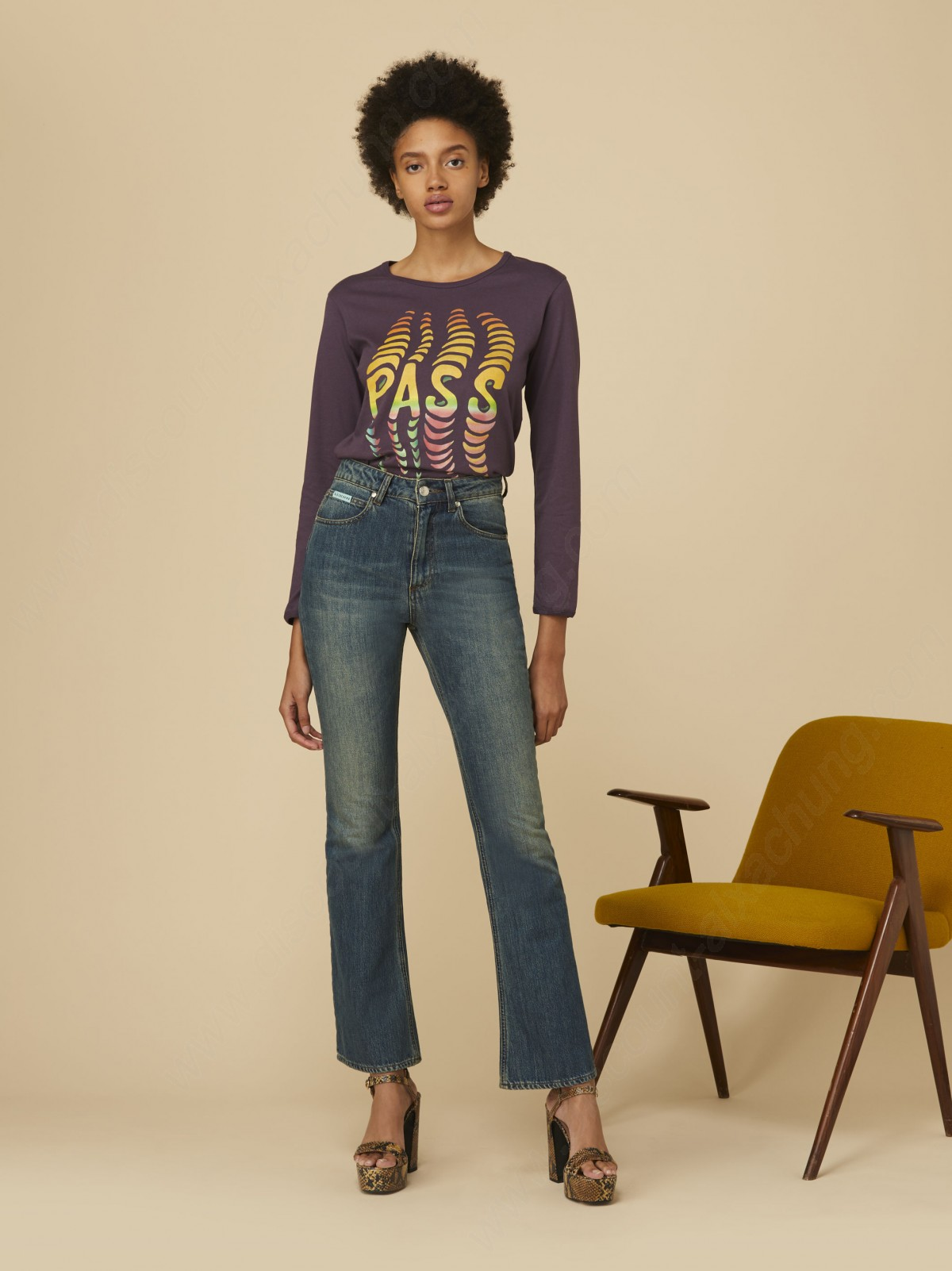 Alexachung Mid Wash Flare Jeans - -2