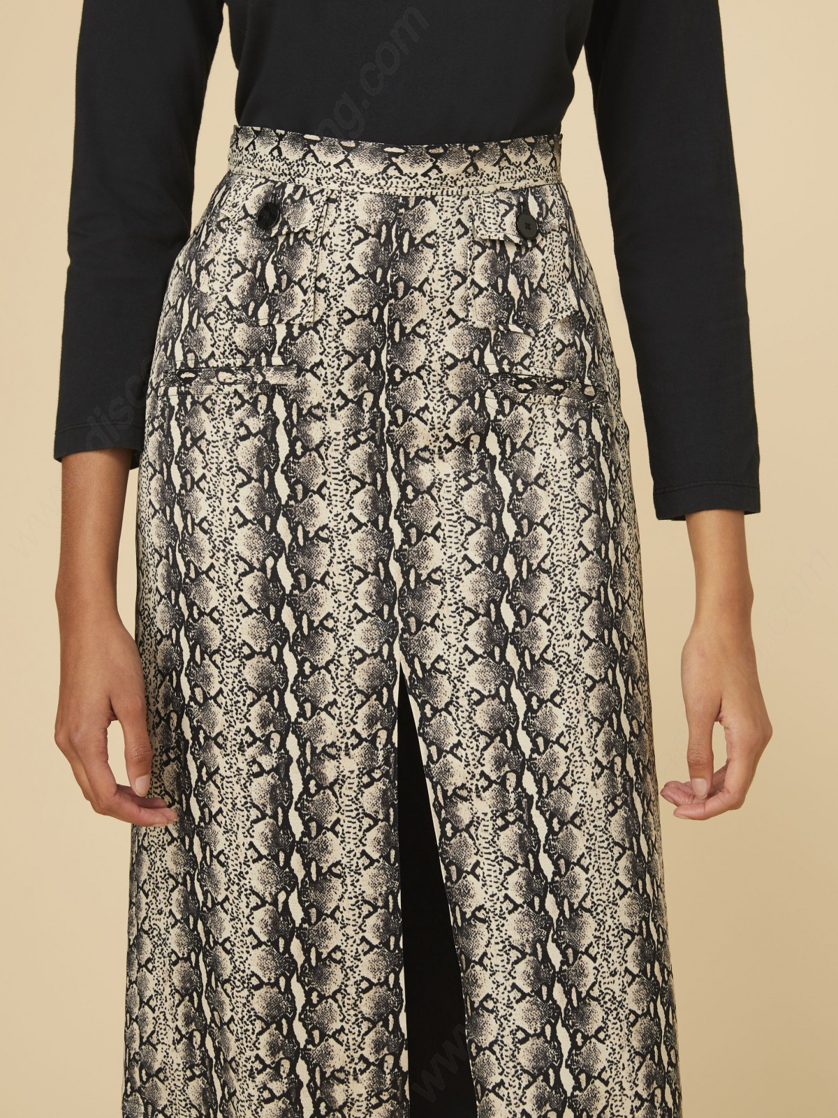 Alexachung Patch Pocket Pencil Skirt - -2