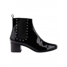 Alexachung Black Studded Chelsea Boot