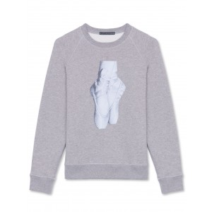 Alexachung Grey En Pointe Sweatshirt