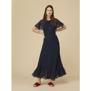 Alexachung Long Bias Cut Cape Dress